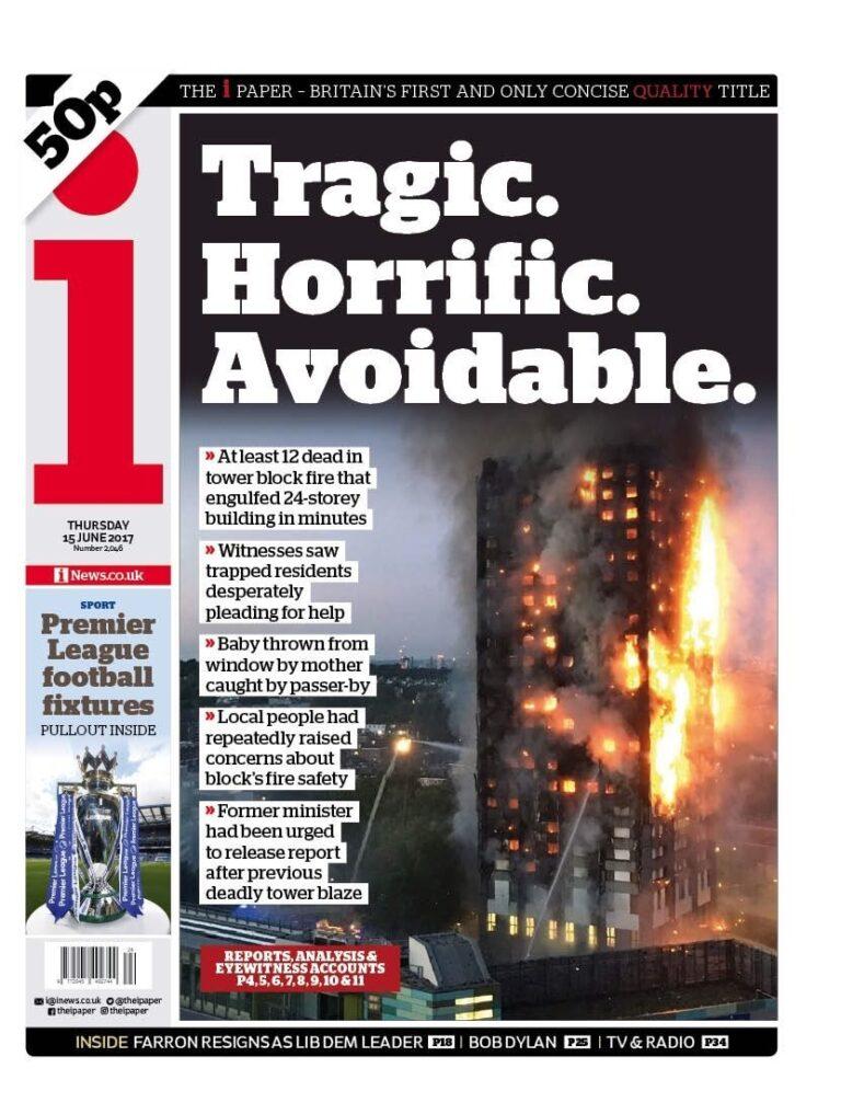 """Tragic. Horrific. Avoidable"""