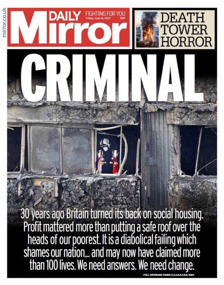 """Britain turned it's back on social housing"""