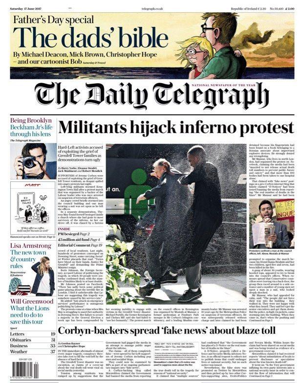 """Militants hijack inferno protest"""